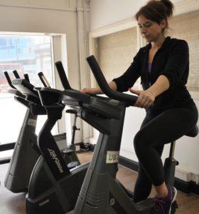 en träningscykel